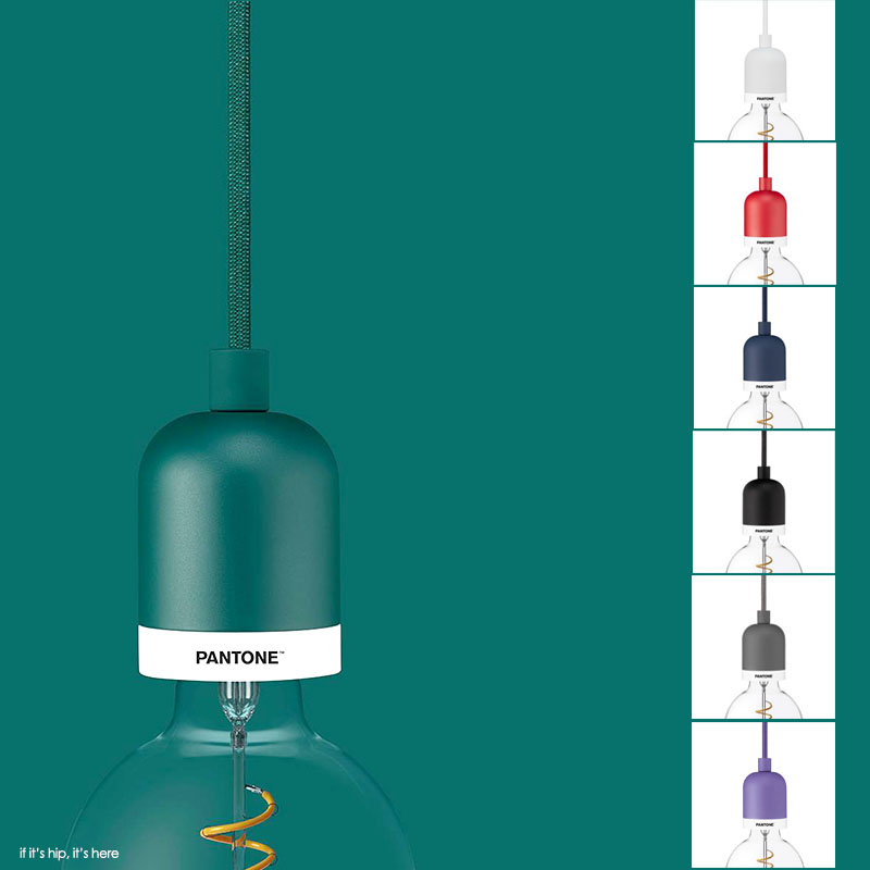 Pantone Launches A Lighting Collection for The Home
