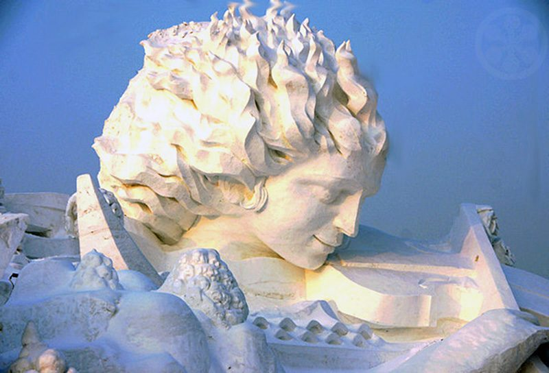 The most impressive harbin ice festival snow sculptures
