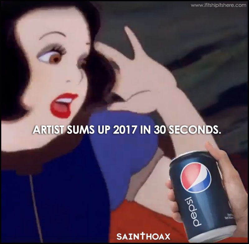 Saint Hoax Sums up 2017 in 30 seconds