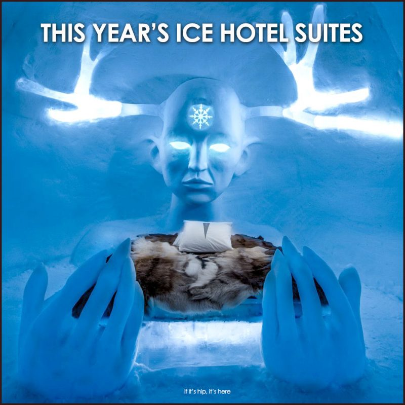 This year's Ice Hotel Suites