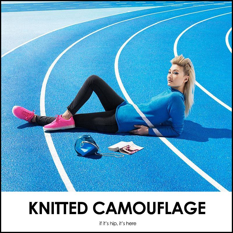 knitted camouflage joseph ford nina dodd