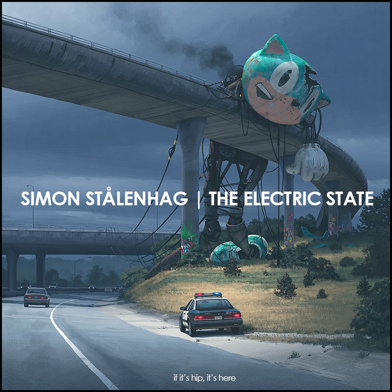 The Electric State by Simon Stalenhag.