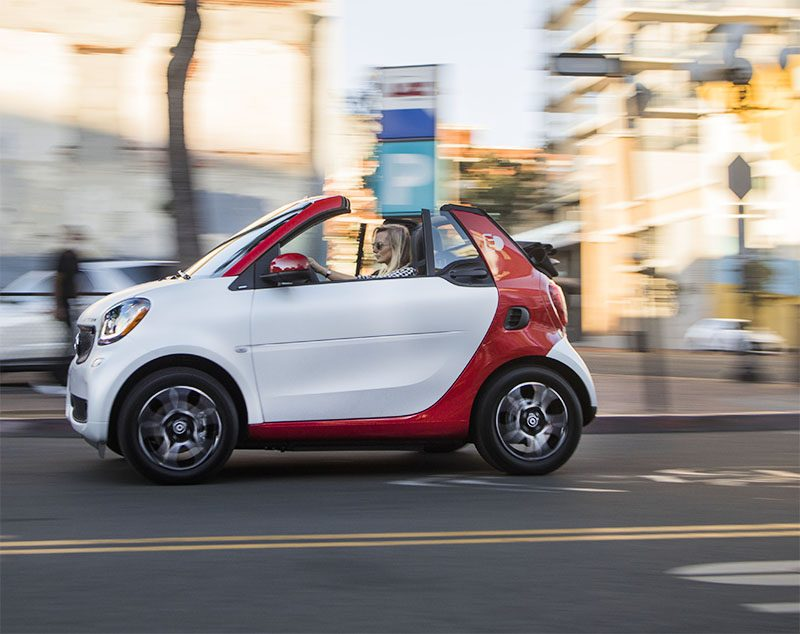 The New Electric Convertible 2018 Smart Fortwo Cabrio Review