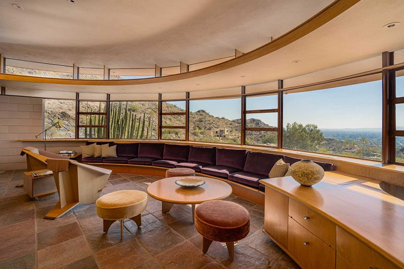 Frank Lloyd Wright S Round Lykes Home Is For Sale
