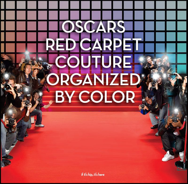 Oscars red carpet couture 2018
