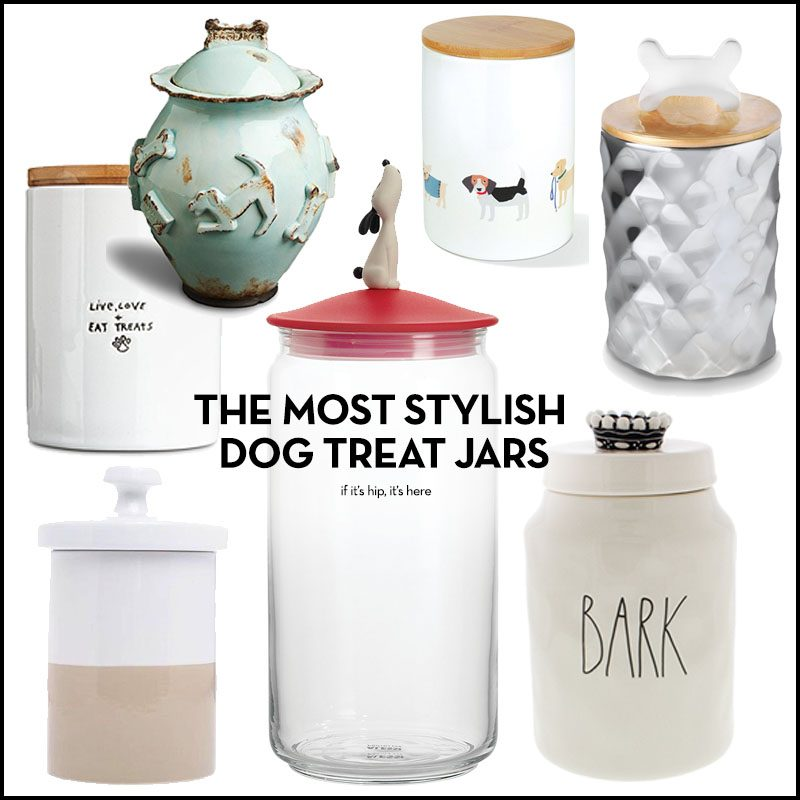 The Most Stylish Dog Treat Jars Or Pet Canisters You Can Buy