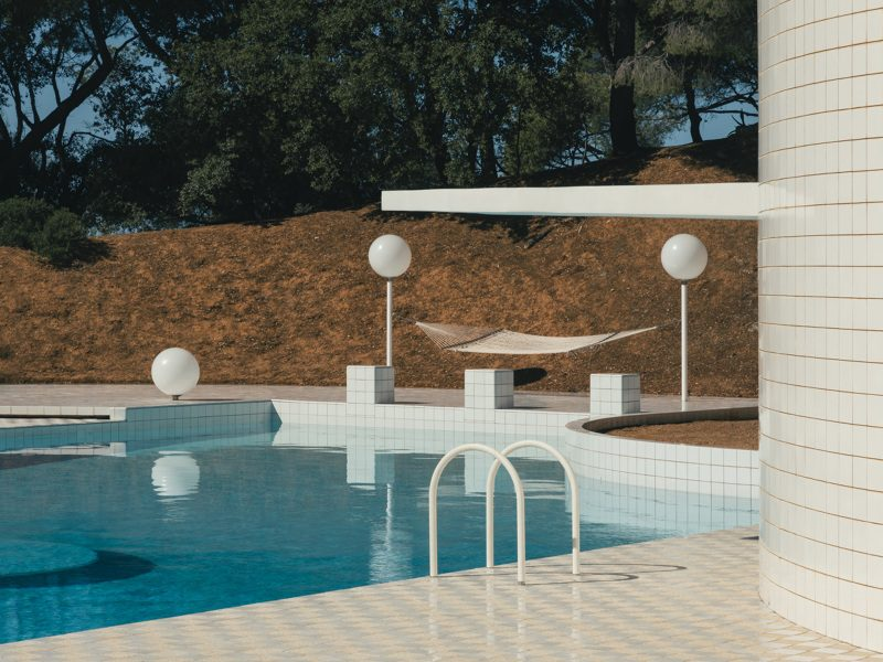 exhibition about swimming pools