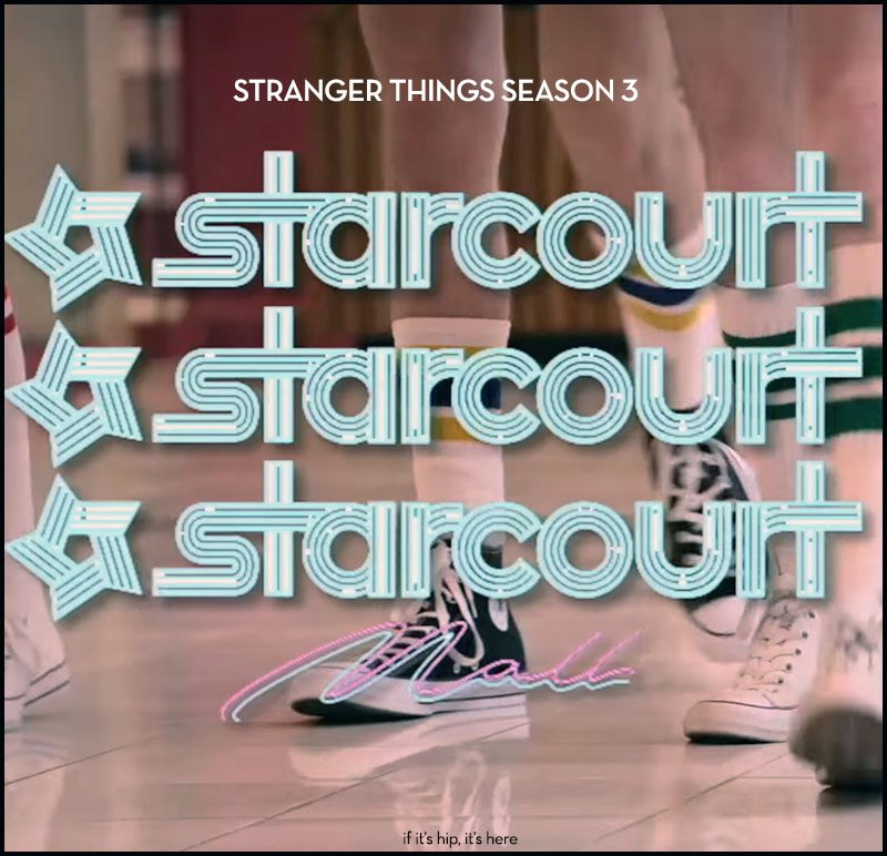 Creating the 80's Starcourt Mall for Stranger Things 3