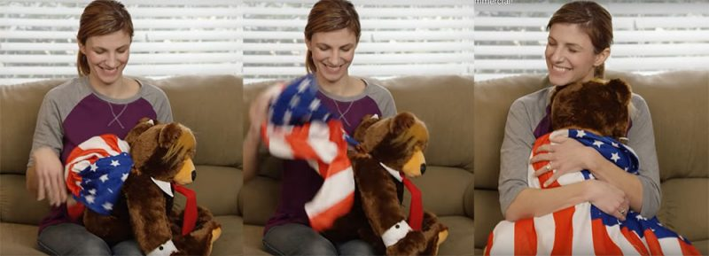 Trumpy Bear Toy and Commercial