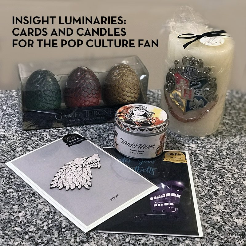 Insight Luminaries Candles and PopCraft Cards