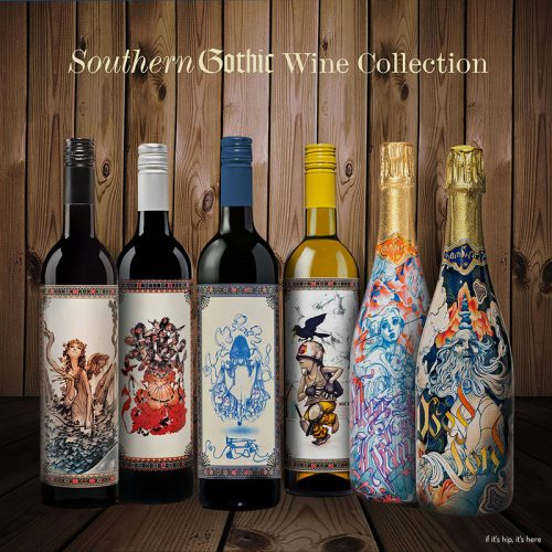 Read more about the article James Jean Designs Champagne Bottles for The Grateful Palate.