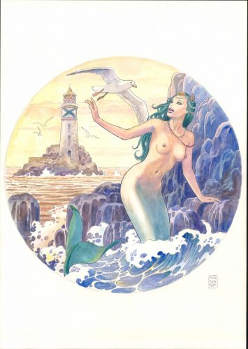 Read more about the article Artist Milo Manara for Ulysse Nardin