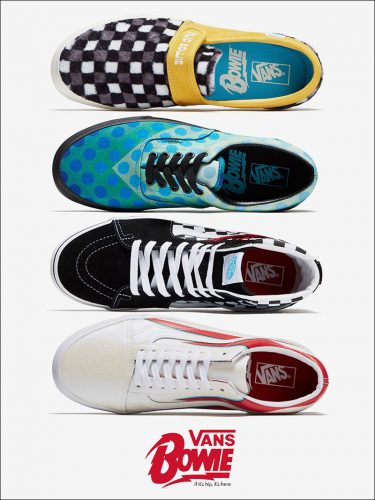 Read more about the article Vans Goes 80s Ugly With Bowie Collection