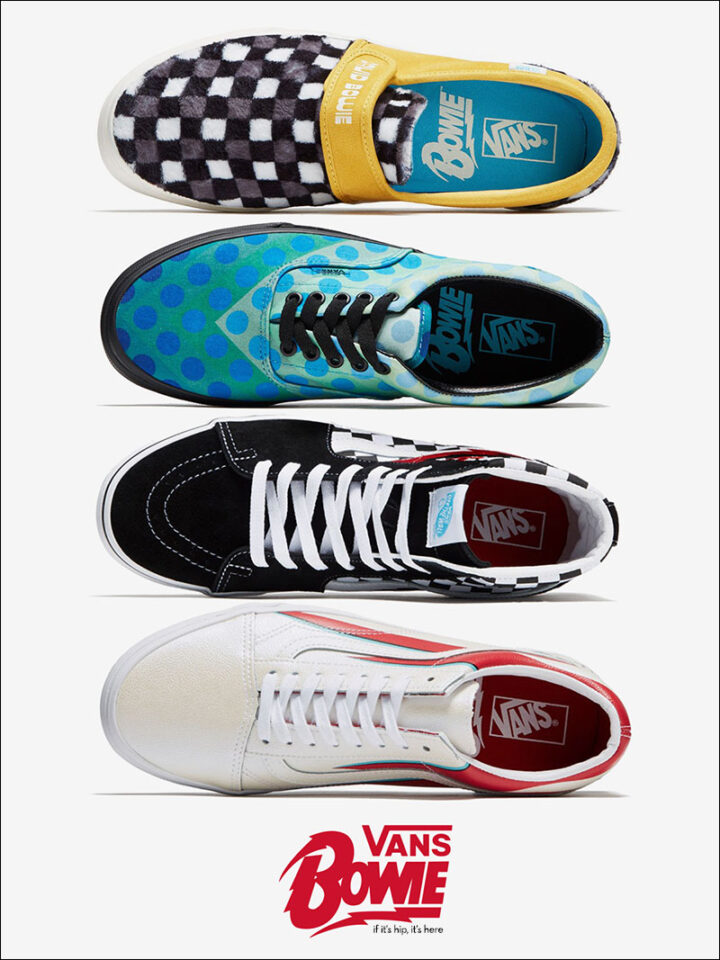 Vans Goes 80s Ugly With Bowie Collection