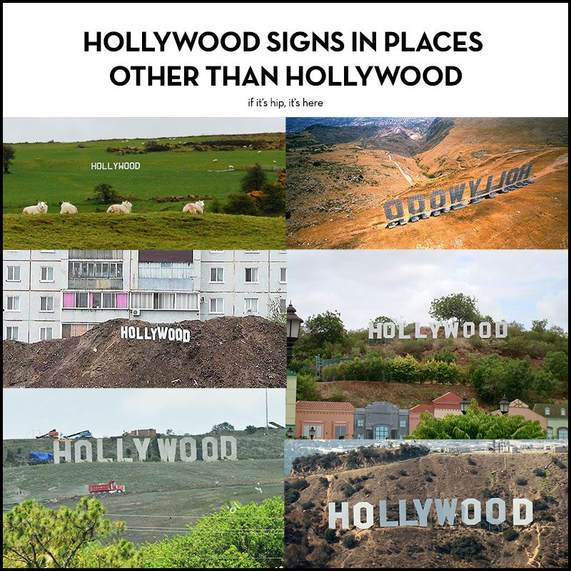 hollywood signs in other places