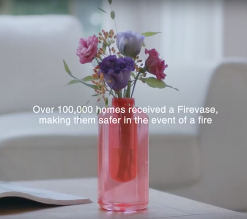 Samsung promotional product Firevase