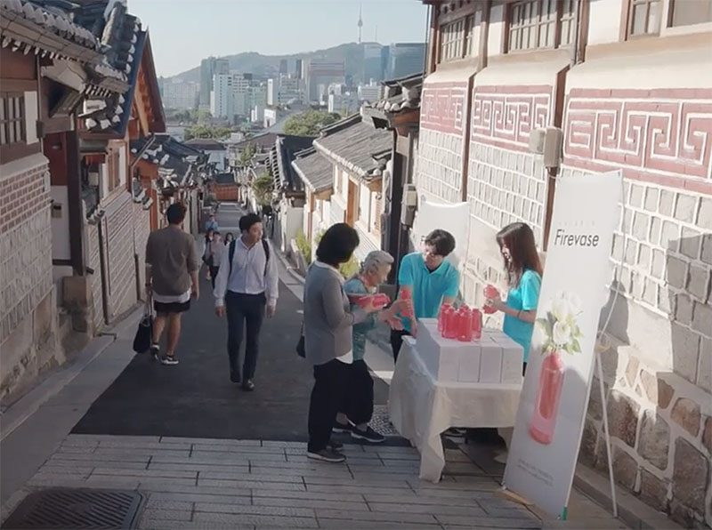 promoting fire safety in Korea