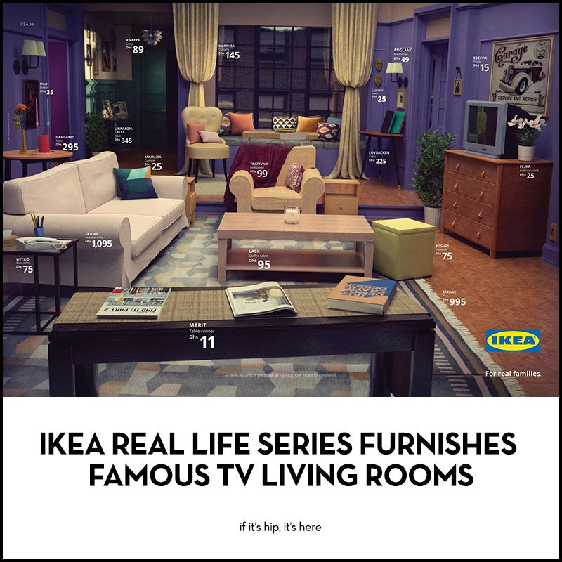 IKEA Real Life Series Living Rooms