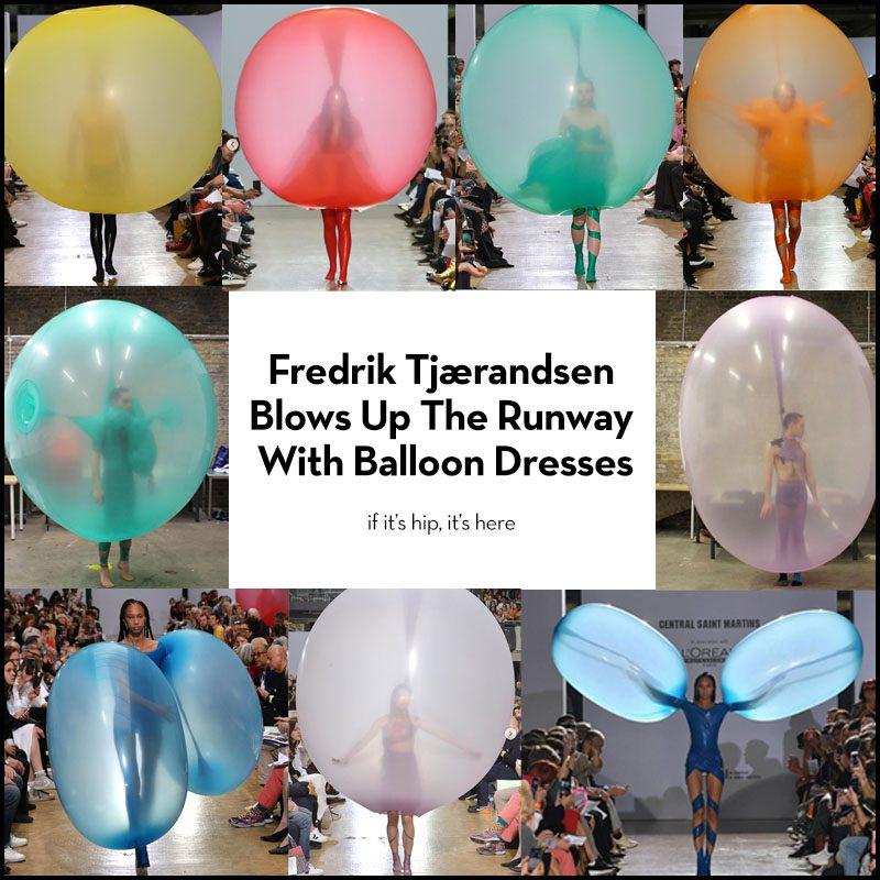 Fredrik Tjaerandsen Balloon Dresses