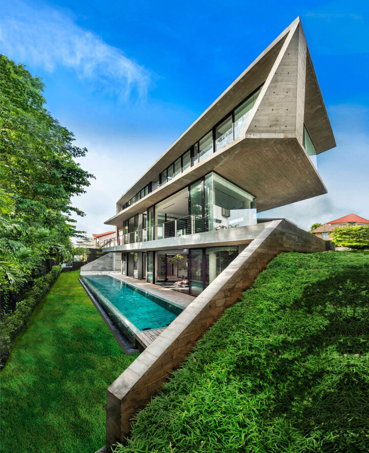 The Stark House in Singapore by Park & Associates
