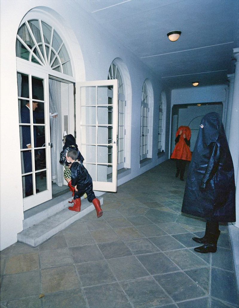 The Kennedy halloween in the white house