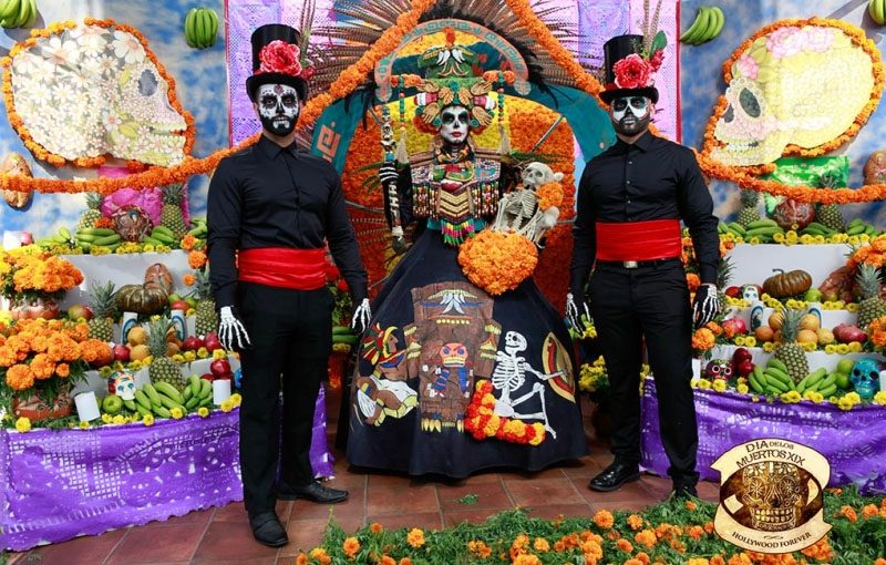 day of the dead in los angeles