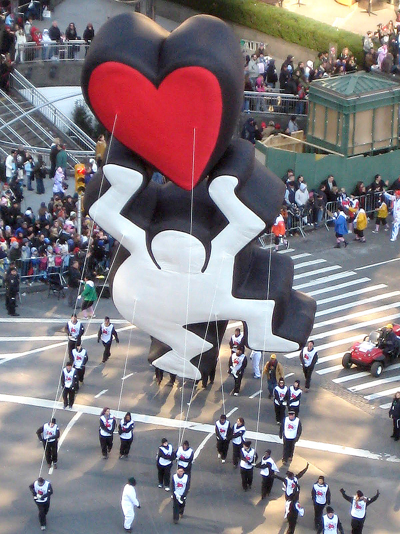 keith haring thanksgiving float