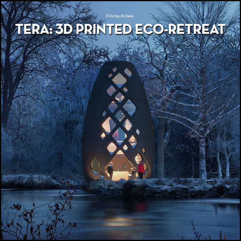 TERA 3D Printed Sustainable Pods