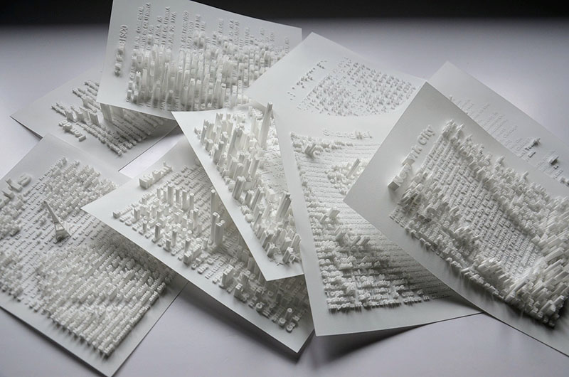 Textscapes by Hongtao Zhou