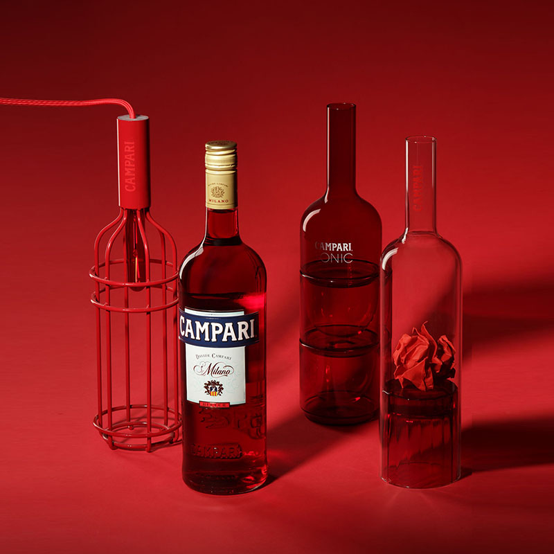 All three editions of Campari's This Is Not A Bottle
