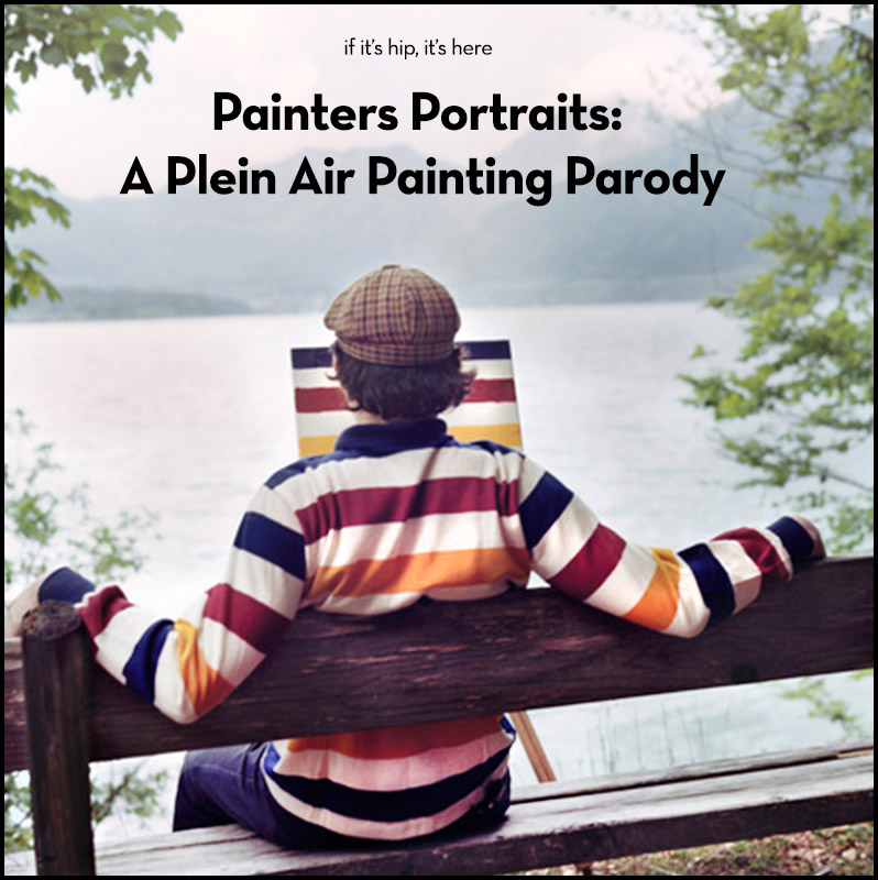 painters portraits on if it's hip, it's here
