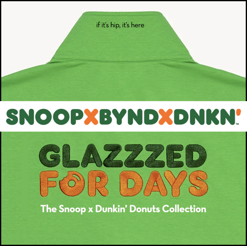 snoop x dunkin donuts collection