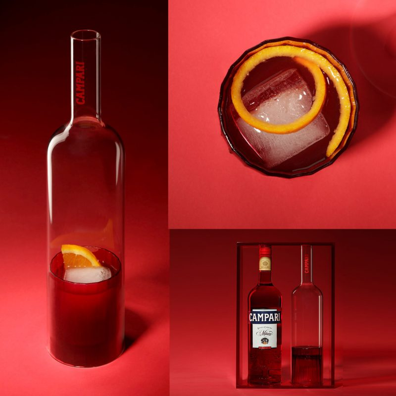 Campari this is not a bottle