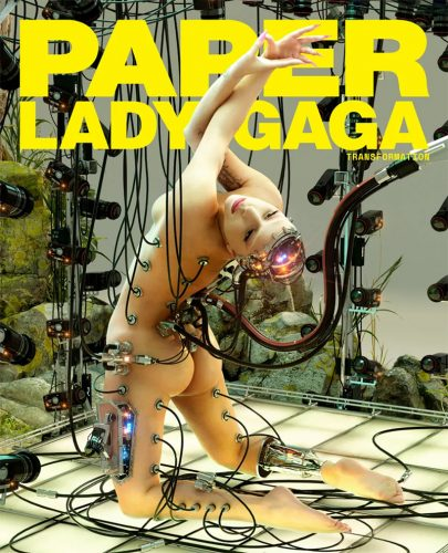 Read more about the article Transformation of Lady Gaga for Paper Magazine. Wow.
