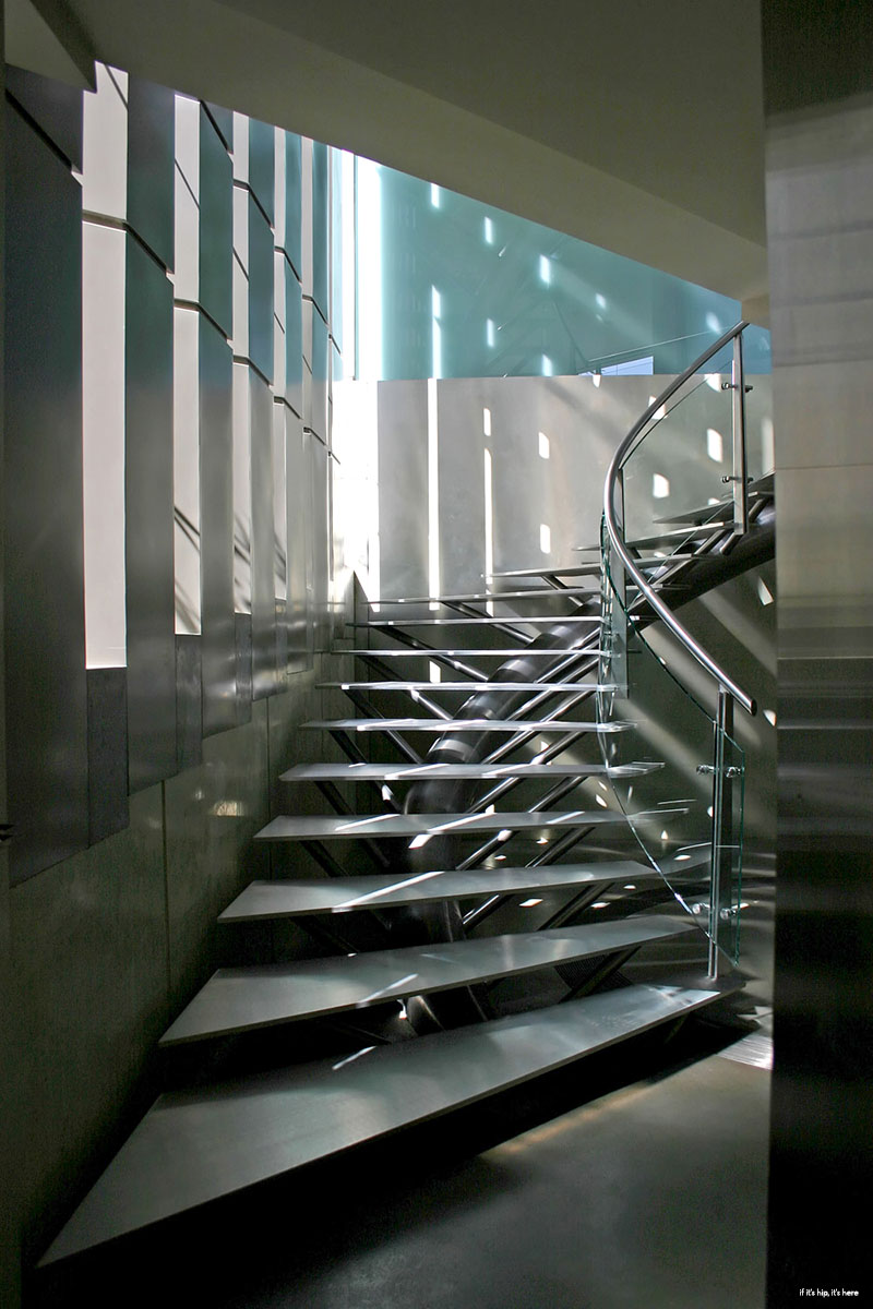crescent house staircase
