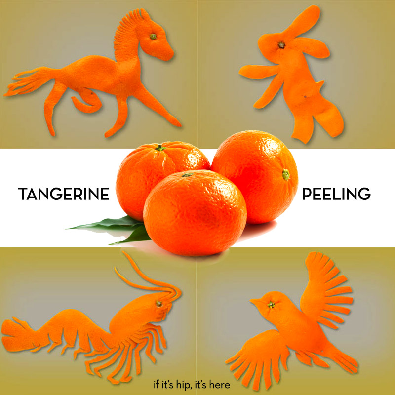 tangerine peeling on if its hip its here
