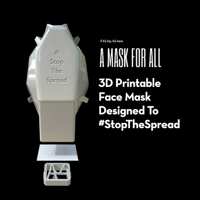 3D Printed mask for all