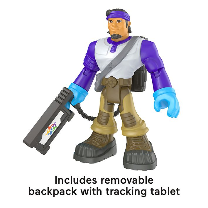 delivery driver action figure