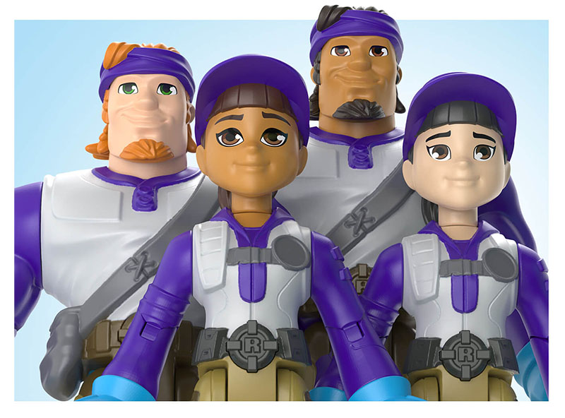 Delivery driver Action figures