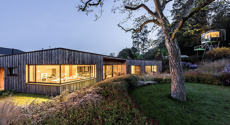 Baumraum Green Dwelling with Tree House