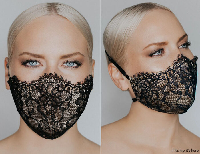 katie may provocateur mask black