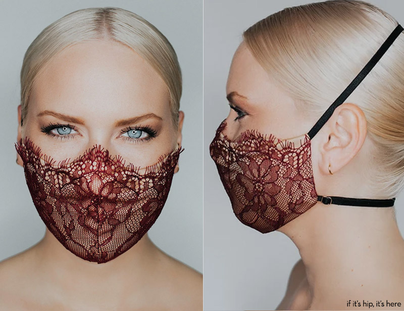 katie may provocateur mask burgundy