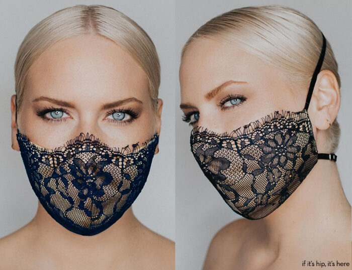 katie may provocateur mask navy
