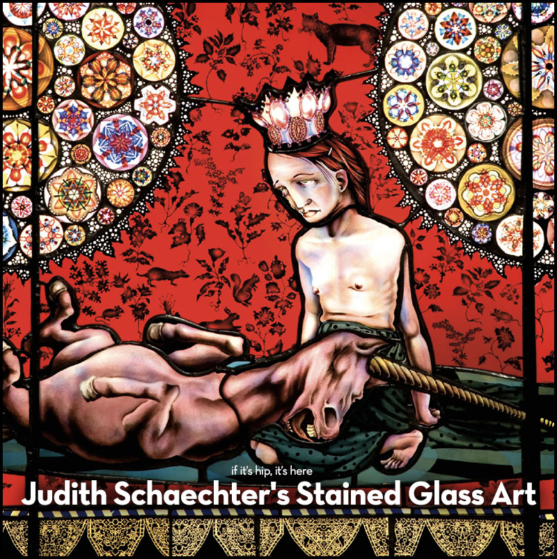judith schaecter stained glass art