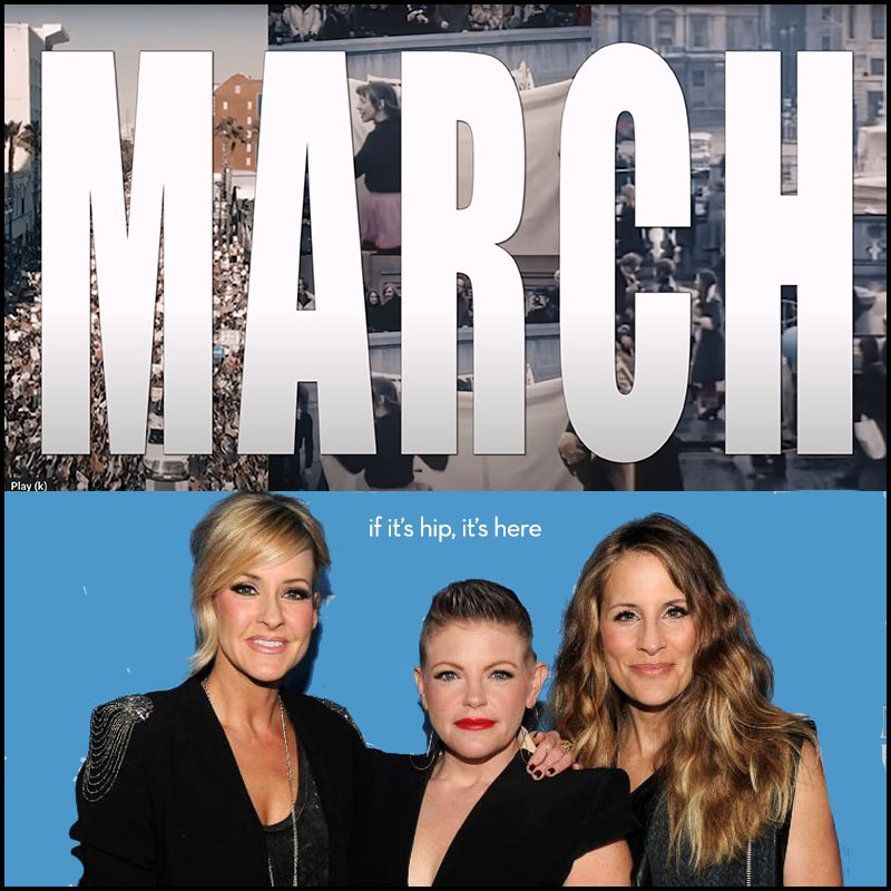 The chicks march march