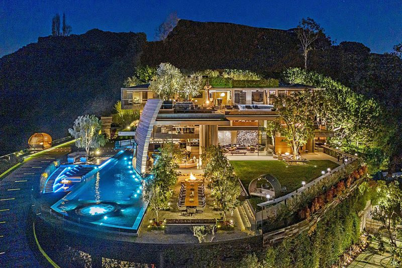 New Pacific Palisades Mansion
