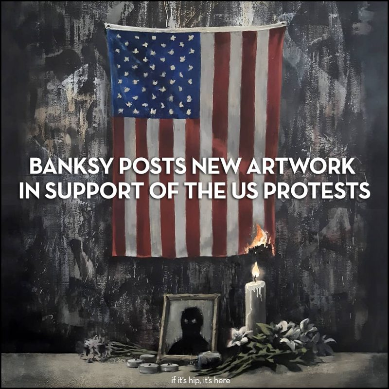 bansky protest painting