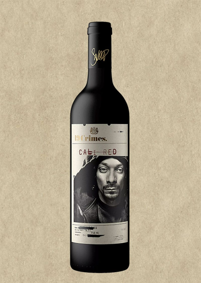 19 Crimes Wines Launch Snoop Dogg Cali Red