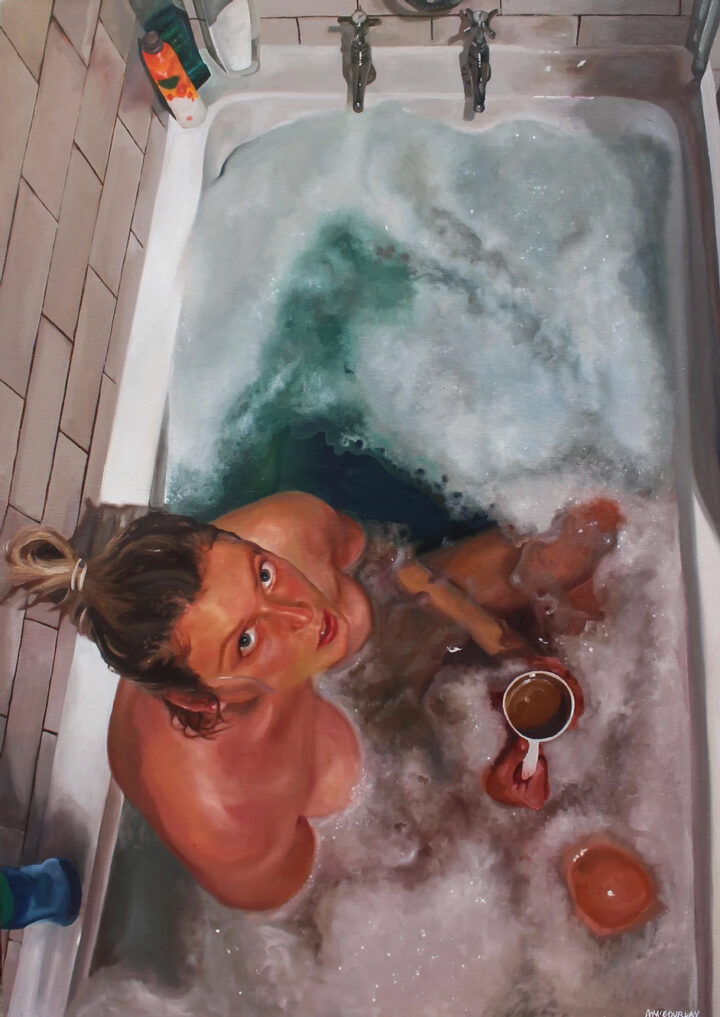 Self-Portrait by Abigail McGourlay Wins Isolation Artwork Competition