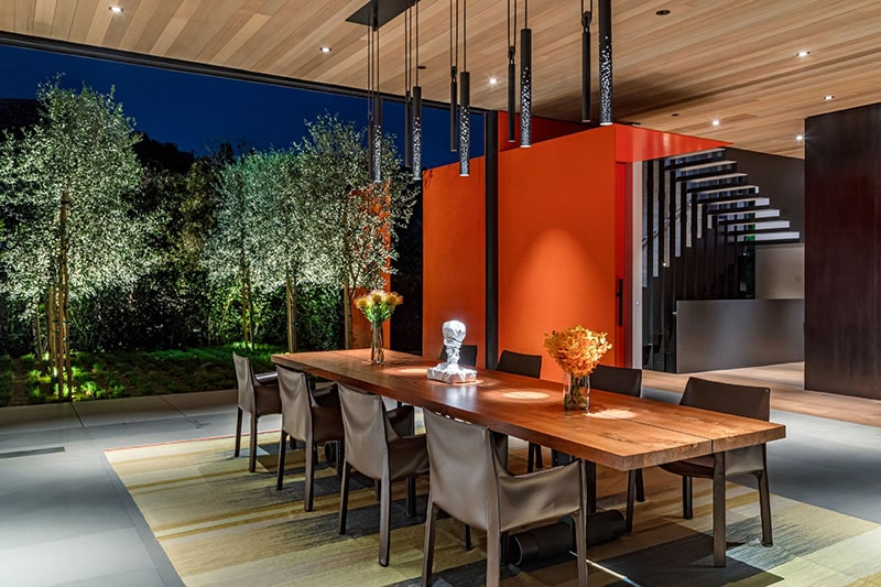 dining table at Collywood